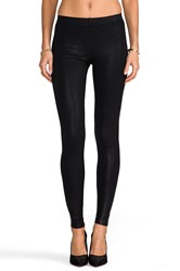 David Lerner Coated Classic Legging Black