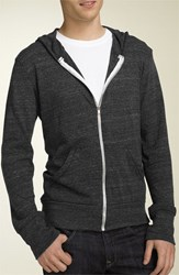 Alternative Apparel Men's Lightweight 'Eco Heather' Zip Front Hoodie