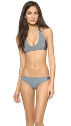 Marc By Marc Jacobs Galactic Racer Back Bikini Top Tornado Multi
