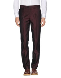Versus By Versace Casual Pants Deep Purple