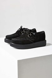 T.U.K. Suede Low Viva Creeper Shoe Black