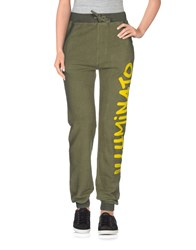 Happiness Trousers Casual Trousers Women Military Green