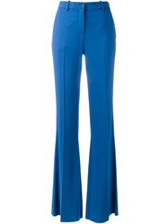 Roberto Cavalli Flared Trousers Blue