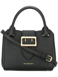 Burberry Runway Gold Tone Hardware Tote Black
