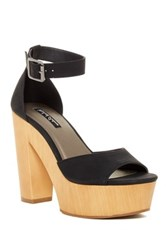Michael Antonio Toy Peep Toe Heel Black