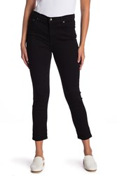 Free People Lack High Roller Cropped Jeans Black