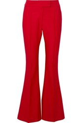 Rachel Zoe Sofia Canvas Flared Pants Us6