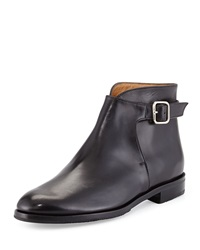 Gravati Buckled Leather Ankle Boot