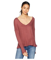 Lucy Love Comfort Zone Top Mulberry Clothing Purple