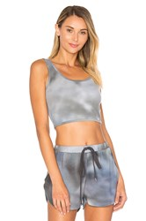 Indah Cookie Cropped Tank Slate