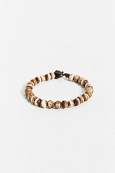 Urban Outfitters Tiger Bead Bracelet Brown