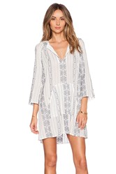 Zimmermann Ryker Hooded Dress White