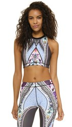 Minkpink Dream Achievers Crop Top Multi
