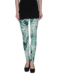 Fausto Puglisi Leggings Light Green