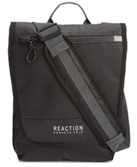 Kenneth Cole Reaction Men's Surge Hype Crossbody Tablet Bag Black