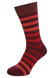 Burlington Blackpool Socks Coralred