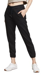 James Perse Fleece Pull On Sweatpants Black