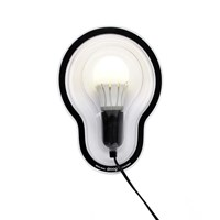 Droog Sticky Wall Lamp Clear