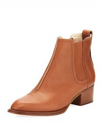 Rag And Bone Walker Ii Smooth Low Heel Chelsea Bootie Light Brown Tan
