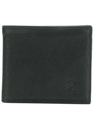Il Bisonte Billfold Wallet Black