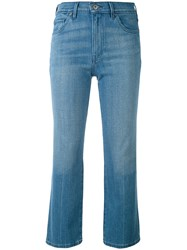 Levi's Cropped Jeans Women Cotton Polyester 26 Blue
