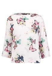 Dorothy Perkins Butterfly Blouse Multi Bright Multicoloured