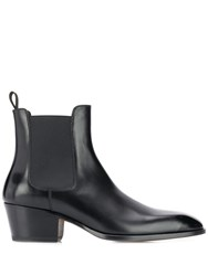 Tom Ford Pointed Toe Ankle Boots Black