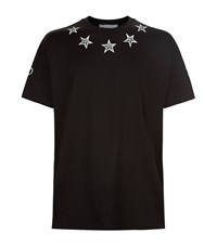 Givenchy Tattoo Print Cuban T Shirt Male Black