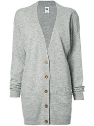Nsf Long Cardigan Grey