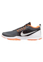 Nike Performance Zoom Domination Trainer Sports Shoes Black Metallic Silver Cool Grey