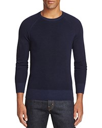 Todd Snyder Merino Wool Crewneck Sweater Navy