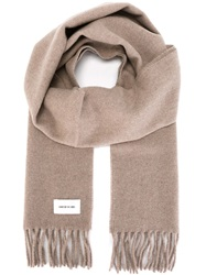 Wood Wood 'Todd' Scarf Nude And Neutrals