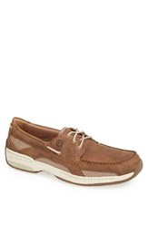 Men's Dunham 'Captain' Boat Shoe Tan