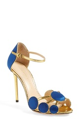 Charlotte Olympia 'Contemporary' Sandal Women Cobalt Blue