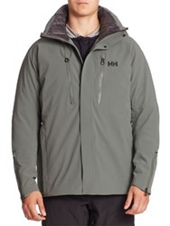 Helly Hansen Wintersports Hooded Parka Rock