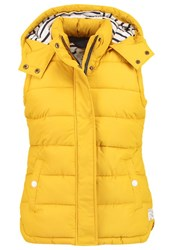 Joules Tom Joule Wavely Waistcoat Antgold Yellow