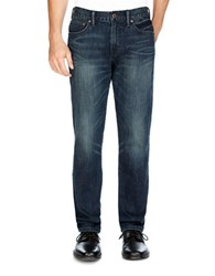 Lucky Brand Cotton Blend Straight Fit Jeans Alhambra