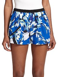 Clover Canyon Floral Print Shorts Multi