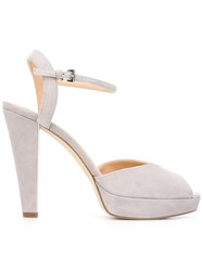 Michael Michael Kors Platform Sandals Grey