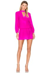 Amanda Uprichard Amaretto Dress Fuchsia