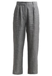 Just Female Genova Trousers Anthracite Mottled Grey