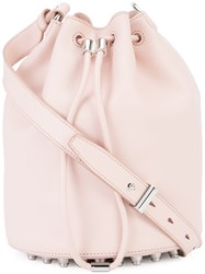 Alexander Wang Bucket Crossbody Bag Pink Purple