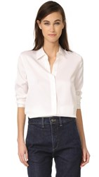 Vince Slim Fitted Blouse White
