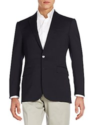 Ralph Lauren Black Label Wool Blazer Navy