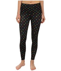 Cw X Stabilyx Tights Print Black Polka Dot Women's Workout