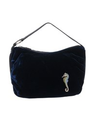 Dibrera By Paolo Zanoli Handbags Dark Blue