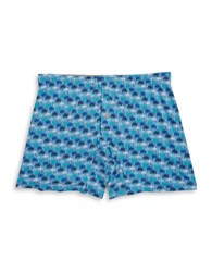 Tommy Bahama Palm Print Boxers Blue