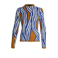 Ekaterina Kukhareva Striped Jumper Blue