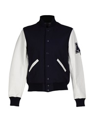 American College Jackets Dark Blue