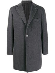Tagliatore Single Breasted Coat Grey